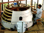 GSLV Structure Assembly